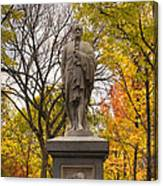 Alexander Hamilton Statue Canvas Print