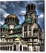 Alexander Nevski Cathedral Canvas Print