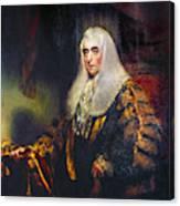 Alexander Wedderburn(1733-1805) Canvas Print