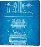 Alexanderson Altenator Patent Art 2 1911 Blueprint Canvas Print