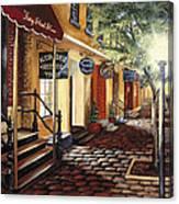 Alexandria At Dawn Canvas Print