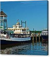 Alexandria Waterfront Canvas Print
