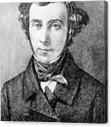Alexis De Tocqueville Canvas Print
