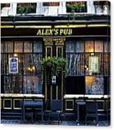 Alex's Pub Canvas Print