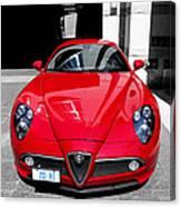 Alfa Romeo 1c Canvas Print
