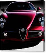 Alfa Romeo 8c Canvas Print