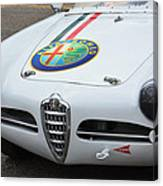 Alfa Romeo Front End Canvas Print