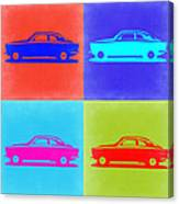 Alfa Romeo Gtv Pop Art 2 Canvas Print