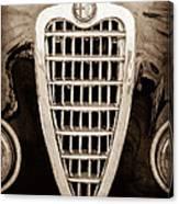 Alfa Romeo Milano Grille Emblem Canvas Print