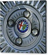 Alfa Romeo Wheel Rim Canvas Print