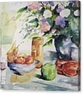 Alfresco Canvas Print