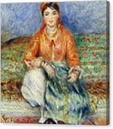 Algerian Girl Canvas Print