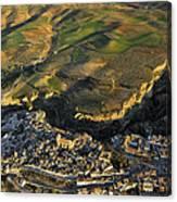 Alhama De Granada Volcanic Lands Canvas Print