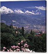 Alhambra View Canvas Print