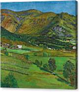Alhustunet. Jolster Canvas Print
