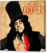Alice Cooper 1 Canvas Print