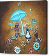 Alice In Wonderland - In Wonder Canvas Print