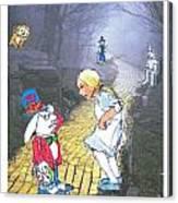 Alice Lost Canvas Print