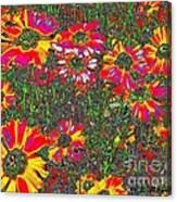 Alice's Garden Canvas Print