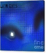 Alien Eyes 2 Canvas Print