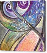 Alien Night Canvas Print