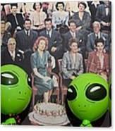 Alien Nostalgia Canvas Print