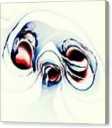 Alien Puppy Canvas Print