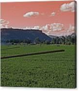 Alien Sky Over Table Rock Canvas Print