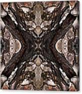 Alien - Tree Bark Art Abstraction Canvas Print