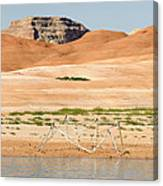 Alien Wreckage - Lake Powell Canvas Print
