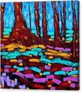 Alizarin Woods Canvas Print