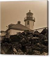 Alki Lighthouse Canvas Print