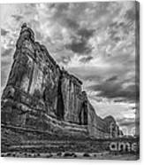 All Aboard Bw Canvas Print