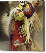 Pow Wow All About Time Canvas Print