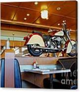 All American Diner 4 Canvas Print