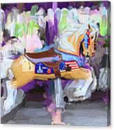 All American Pony Canvas Print