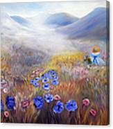 All In A Dream - Impressionism Canvas Print
