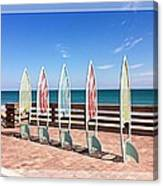 All In A Row Too Canvas Print