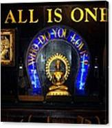 All Is One Canvas Print