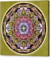 All Is Well Mandala Canvas Print