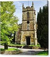 All Saints Church Weston Bath Canvas Print