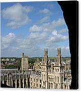 All Souls College And Beyond Canvas Print