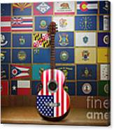 All State Flags Canvas Print