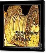 All That Glitters Is Not Gold Canvas Print