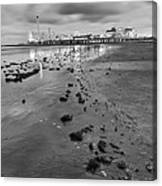 All The Roads Lead To The Pleasure Pier Canvas Print