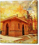 Allama Iqbal Tomb Canvas Print