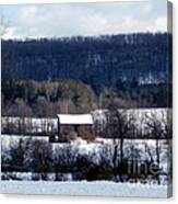 Allegany Winter Canvas Print