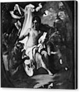 Allegory Of Africa Canvas Print