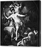 Allegory Of America Canvas Print