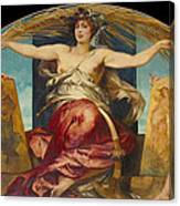 Allegory Of Religious And Profane Painting  Canvas Print